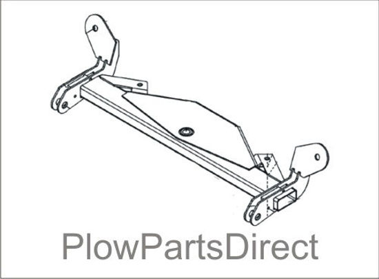 Picture of Snoway swing frame for 22 series plows