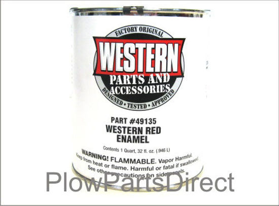 Picture of Western Paint red quart