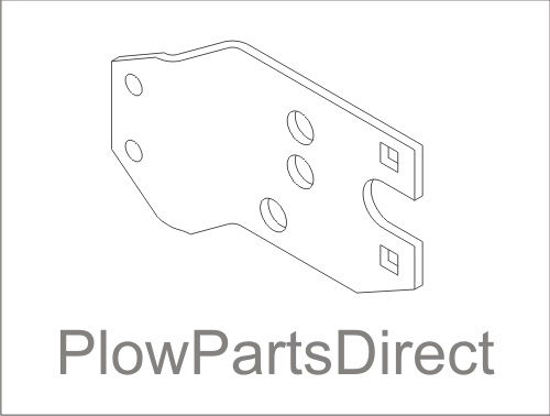 Picture of Western Pivot plate A midweight