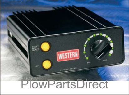 Picture of Western Tailgate spreader control