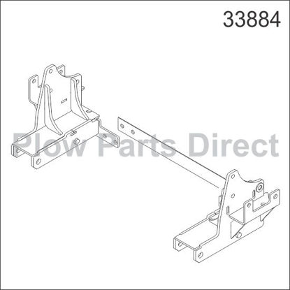Picture of UltraMount truck mount Dodge 33884 -Fits Gas Engines Only!