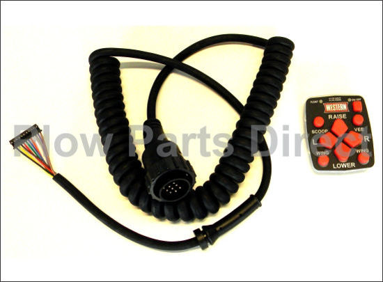 Picture of Western MVP Keypad and harness