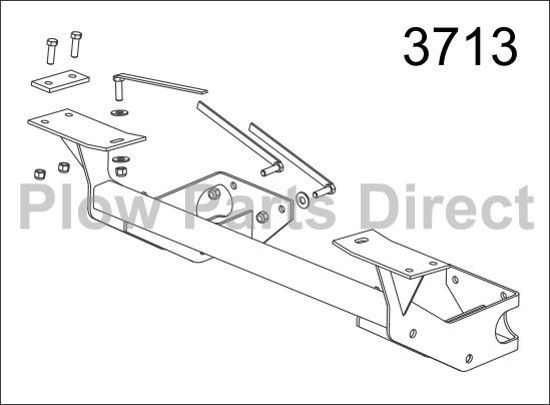 Picture of Western Defender truck mount Jeep 3713-2