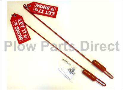 """Picture of Western aftermarket guides with flags 27"""""""