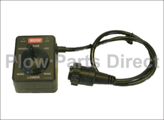 Picture of Western MVP Joystick control round plug