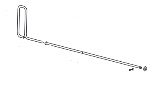 Picture of Western Feedgate Handle Kit -78094