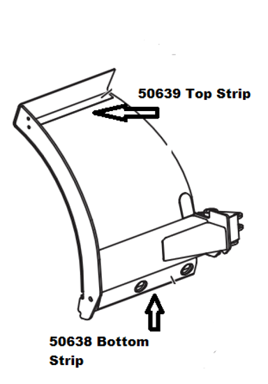 Picture of Western Wideout Wear Strips - 50638 and 50639