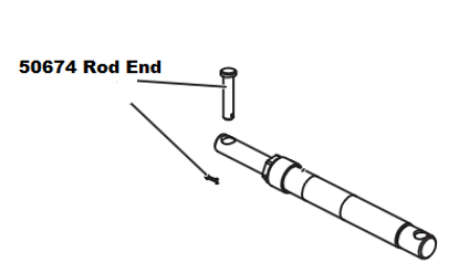 Picture of Western Pin Kit Rod End - 50674