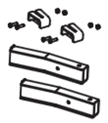 Picture of Western Blade Stop Kit - MVP 3- 43082-1