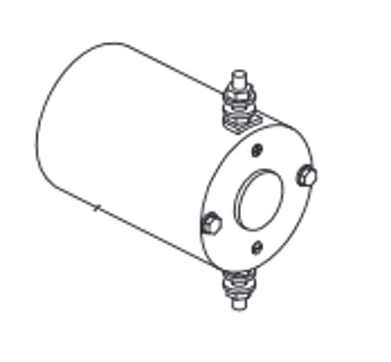 "Picture of Western Motor Assy. 3"" - HTS/Suburbanite/Defender - 48543-1"