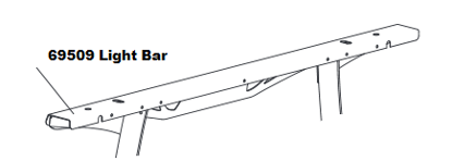 Picture of Western Light Bar HTS - 69509