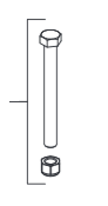 Picture of Western Pivot Bolt  -69494