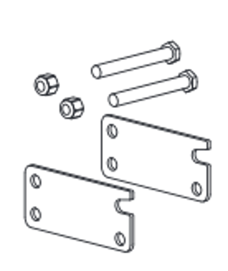 Picture of Western Height Adjusting Plate Kit - 69620