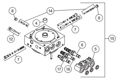 Picture of Western Manifold Flostat Fleet Flex - with valves