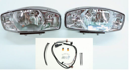Picture of Western Snow plow lights Nighthawk New Style! -38800