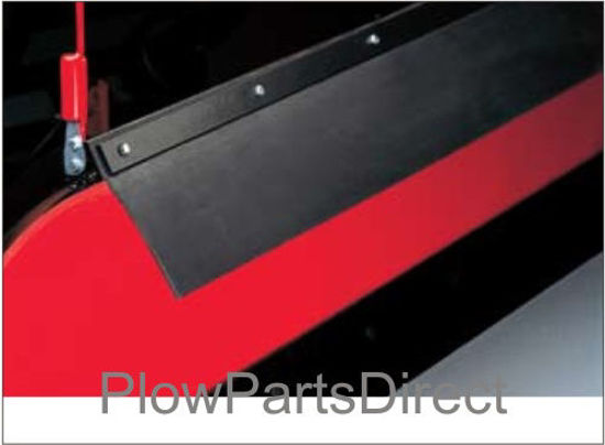 """Picture of Western Rubber deflector Defender Plow (6'8"""" and 7'2"""")- 85264"""