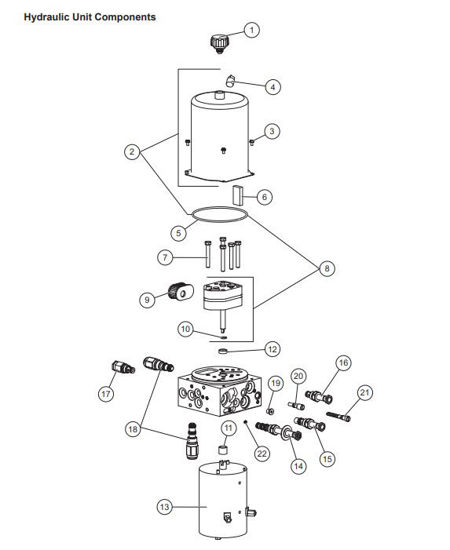 Picture of Western Hydraulic Unit Service Kit- Prodigy 41866