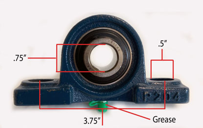 """Picture of Western bearing 3/4"""""""